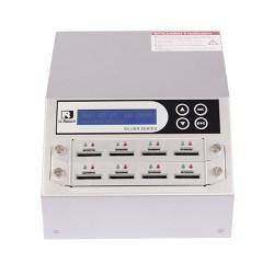 D & MicroSD Duplicator and Sanitizer 1-7 (SD908S)